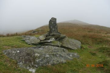 A cairn with a difference