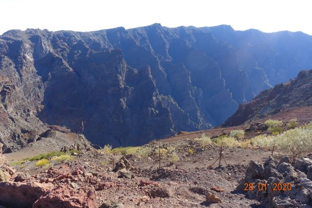 First view of the Caldera