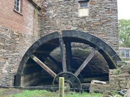 Massive waterwheel
